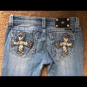 Miss Me Light Wash Jeans